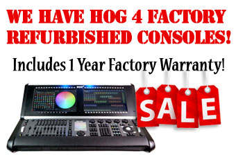 Hog Lighting Consoles for sale